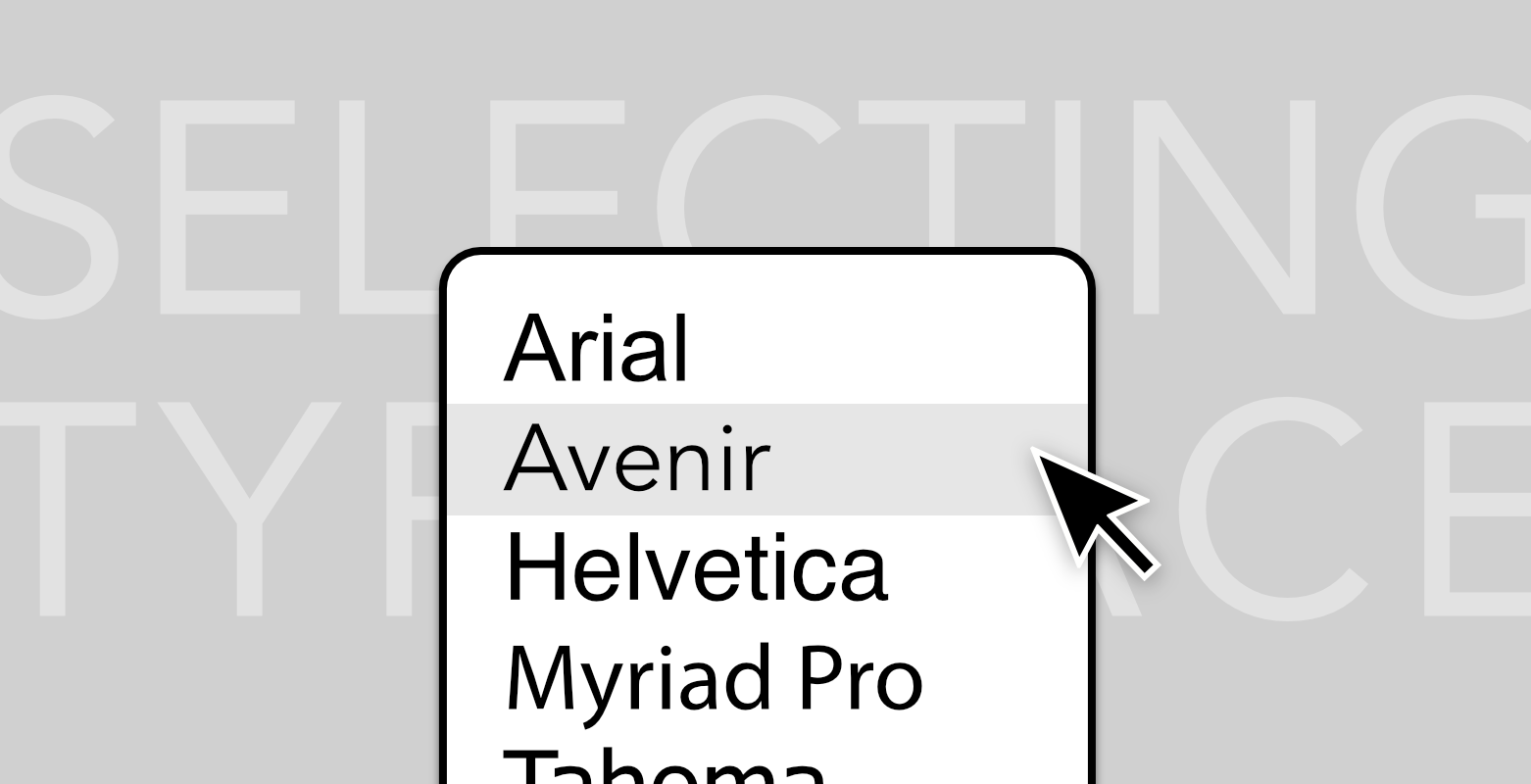 selecting-typeface