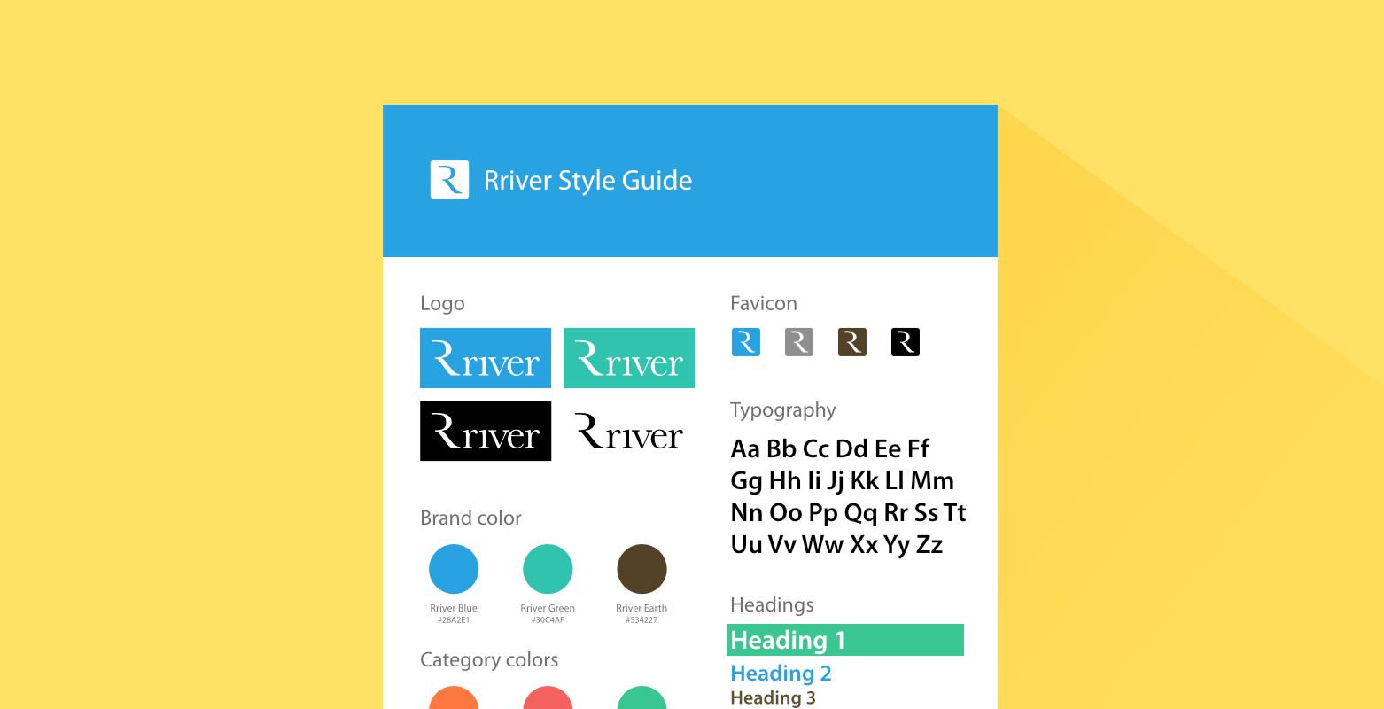 スタイルガイドとパターンライブラリの違い – Rriver