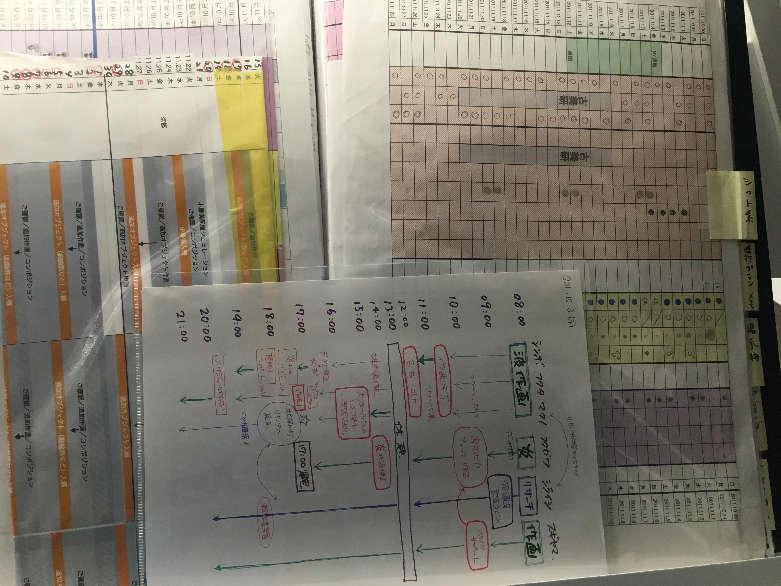 takashi-murakami-500-arhats-schedule-chart