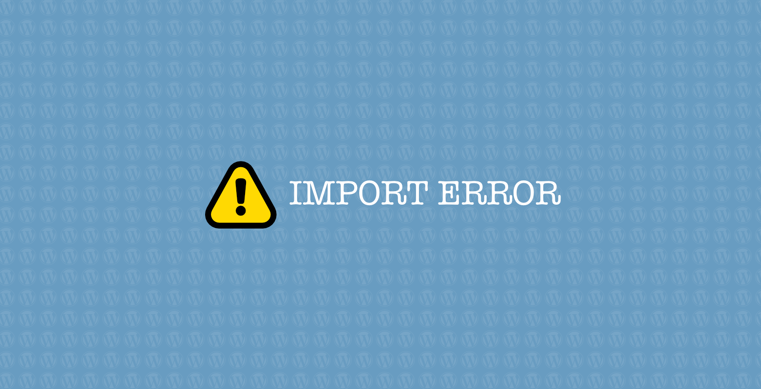 wp-sql-import-error