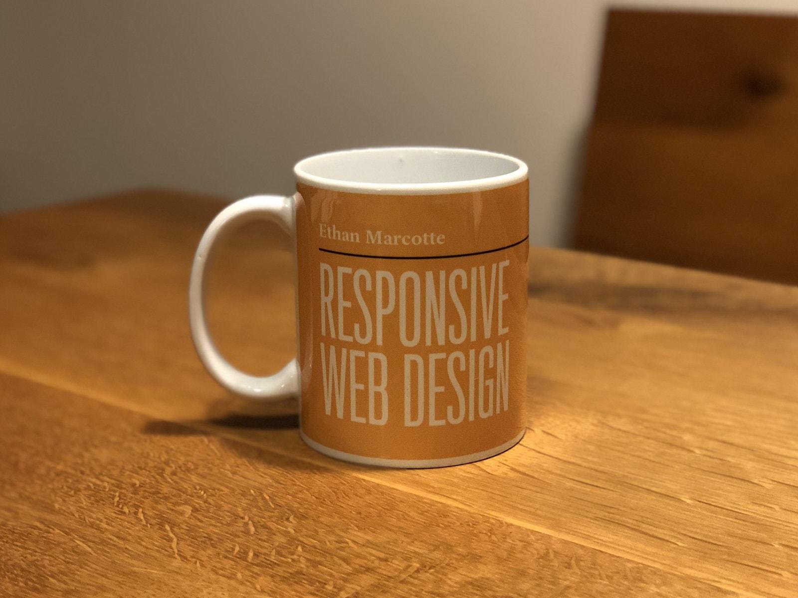 Responsive Web Designマグカップの表側